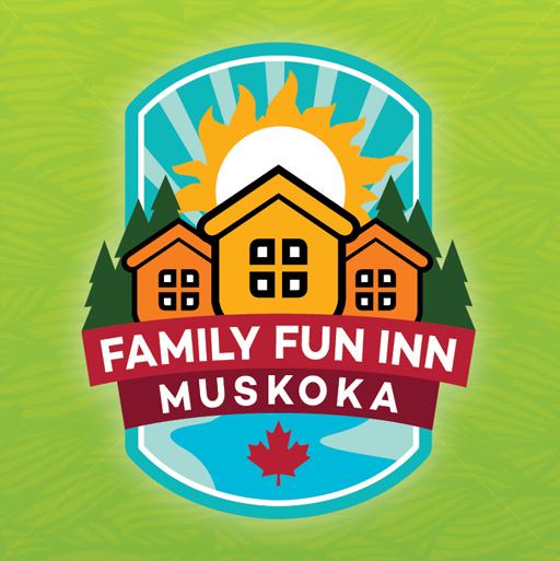 Family Fun Inn Muskoka website, business cards and passes